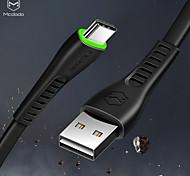 economico -MCDODO Tipo-C Cavi Piatto Carica rapida 2 A 1.8M (6 piedi) TPE Per Samsung Xiaomi Huawei Appendini per cellulare