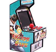 abordables -156 Games Consoles de Jeu Portative Console de jeu Mini arcade rétro Mini poche portable portable Carte de jeu intégrée Prise en charge de la sortie TV Thème classique Véhicules Jeux vidéo rétro avec