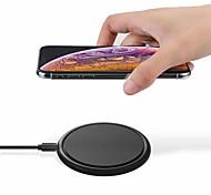 economico -WAZA 10  7.5  5 W Potenza di uscita Pad di ricarica wireless Caricatore senza fili Portatile con cavo Ricarica veloce Zero Per Apple iPhone 12 11 pro SE X XS XR 8 Samsung Glaxy S21 Ultra S20 Plus S10