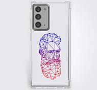 economico -Novità Geometria Astuccio Per Samsung Galaxy S21 Galaxy S21 Plus Galaxy S21 Ultra Design unico Custodia protettiva Resistente agli urti Per retro TPU