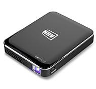 economico -kooou x3 mini proiettore 1080p supportato android / ios mirroring dello schermo del telefono home cinema 3d beamer 3200 mah batteria proiettore portatile