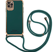 economico -telefono Custodia Per Apple Integrale iPhone 12 iPhone 12 Pro Max iPhone 12 Pro iPhone 12 Mini A prova di sporco Mattonella Nylon Metallo Alluminio