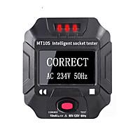 economico -LITBest MT10S / MT10E Tester per prese di corrente Tipo di contatto Per l'ispezione dell'installazione domestica