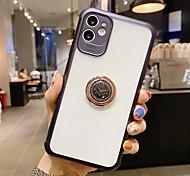 economico -telefono Custodia Per Apple Integrale iPhone 12 Pro Max 11 SE 2020 X XR XS Max 8 7 Supporto ad anello Mattonella TPU Metallo