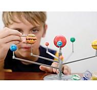 abordables -modèle de système solaire bricolage jouets enfant science et technologie apprentissage système solaire planète enseignement assemblage coloriage jouet éducatif