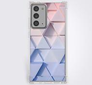 abordables -Géométrique Cas Pour Samsung Galaxy S21 Galaxy S21 Plus Galaxy S21 Ultra Modèle unique Étui de protection Antichoc Coque TPU