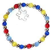 abordables -bracelet de sensibilisation à l'autisme, taille adulte, livré emballé (extensible (convient à la plupart des adultes))