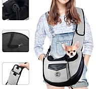 economico -imbracatura per animali domestici, piccoli animali domestici cucciolo di cane imbracatura per gatti borsa da trasporto mani libere con tracolla regolabile imbottita tasca anteriore borsa a tracolla