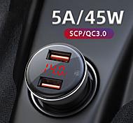 economico -Ricarica veloce / CIG / Multi-porte USB 2 porte USB Solo caricabatterie 9 V / 5 A
