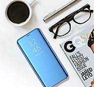 economico -telefono Custodia Per Samsung Galaxy Integrale S8 Con supporto A specchio Con chiusura magnetica Tinta unita Resistente PC