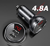 economico -Ricarica veloce / Multi-porte USB 2 porte USB Solo caricabatterie 5 V / 4.8 A
