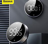 abordables -Baseus led minuterie numérique magnétique pour la cuisine compte à rebours de cuisson réveil électronique de cuisson compte à rebours