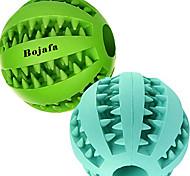 abordables -meilleurs jouets de dentition pour chien balle chien durable non toxique iq puzzle jouets à mâcher pour chiot petit grand chien nettoyage des dents / mâcher / jouer / distribution de friandises