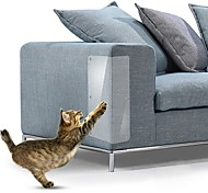 economico -4 pz 15 * 48 cm divano gatto antigraffio guardie stuoia raschietto albero gatto graffiare artiglio post protector divano per gatti scratcher zampa pastiglie mobili per animali