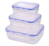 economico -2pcs Scaffalature Plastica Barattoli e scatole Da tutti i giorni 500 ml deposito cucina