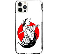 economico -Stile cinese Astuccio Per Mela iPhone 12 iPhone 11 iPhone 12 Pro Max Design unico Custodia protettiva Resistente agli urti Per retro TPU