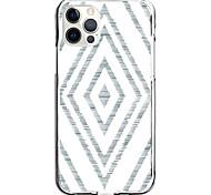 abordables -Lignes / Vagues Courbe Cas Pour Pomme iPhone 12 iPhone 11 iPhone 12 Pro Max Modèle unique Étui de protection Antichoc Coque TPU
