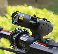 economico -LED Luci bici Luce frontale per bici Fanale anteriore Torcia LED Ciclismo da montagna Bicicletta Ciclismo Impermeabile Modalità multiple Portatile Facile da applicare AA / 14500 2000 lm 1 ×Batterie