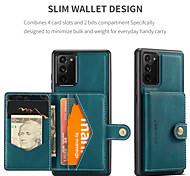economico -telefono Custodia Per Samsung Galaxy Per retro Custodia in pelle Porta carte di credito S21 S21 Plus S21 Ultra S20 S20 Plus S20 ultra S20 FE 5G Nota 9 Nota 8 Note 20 Ultra A portafoglio Porta-carte