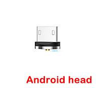 economico -FLOVEME Micro USB Adattatore Normale Trasmissione dati Caricatore del telefono 2 A Alluminio Per Samsung Xiaomi Huawei Appendini per cellulare