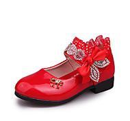 abordables -Fille Ballerines Chaussures de princesse Polyuréthane Petits enfants (4-7 ans) Grands enfants (7 ans et +) Quotidien Marche Rouge Rose poussiéreuse Rose Automne Printemps