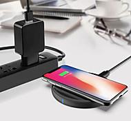 economico -WAZA 15 W Potenza di uscita Pad di ricarica wireless Caricatore senza fili con cavo QC 3.0 Caricatore senza fili Zero Per Apple iPhone 12 11 pro SE X XS XR 8 Samsung Glaxy S21 Ultra S20 Plus S10