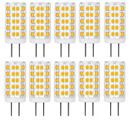 economico -10 pezzi 6 pz 4 W Luci LED Bi-pin 400-500 lm G9 G4 E26 / E27 T 54 Perline LED SMD 2835 Bianco caldo Bianco 100-240 V