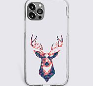 abordables -Imprimés Photos Animal Cas Pour Pomme iPhone 12 iPhone 11 iPhone 12 Pro Max Modèle unique Étui de protection Antichoc Coque TPU
