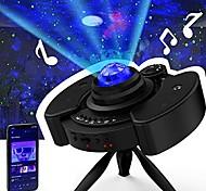 economico -Star Galaxy Proiettore di Luce 116 Telecomando con altoparlante musicale Bluetooth Proiettore di luce laser Feste Matrimonio Regalo RGB + Bianco