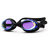 abordables -Lunettes de natation Etanche Antibrouillard Protection UV Miroir Plaqué Pour Enfant Gel de silice Polycarbonate Blanc Incarnadin Gris Incarnadin Gris Noir