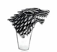abordables -trônes de jeu en acier inoxydable maison de loup de glace stark of winterfell biker animal bague bijoux de mode (7)