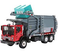 abordables -KDW 1:24 Métallique Plastique ABS Tombereau Camion de recyclage des ordures Véhicule de construction de camion jouet Rétractable Camion Garçon Fille Enfant Jouets de voiture / 14 ans et +