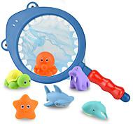abordables -Jouets aquatiques Jouets pour piscine Jouets de bain Dauphin Poissons ABS Créatif Eté pour les tout-petits, cadeau de bain pour les enfants et les nourrissons