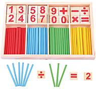 abordables -Outil pédagogique Montessori Jouet Educatif Jouets Educatifs Mathématiques compatible En bois Legoing Economique Éducation Classique Garçon Fille Jouet Cadeau / Enfant