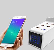 abordables -winhow multi 6 ports usb chargeur intelligent pour iphone samsung ipad adaptateur mural de bureau socket hub universel qc3.0 chargeur rapide