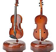 abordables -Boîte à musique Violon Classique Unique Humide Femme Garçon Fille Enfants Enfant Adultes Cadeaux de fin d'études Jouet Cadeau