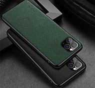 economico -telefono Custodia Per Apple Per retro Custodia in pelle iPhone 12 Pro Max 11 SE 2020 X XR XS Max Resistente agli urti Tinta unica vera pelle