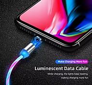 economico -Micro USB USB C Cavi A calamita Trasmissione dati Caricatore del telefono 2 A TPE Per Samsung Huawei Appendini per cellulare