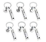 abordables -drive safe porte-clés 26 lettres porte-clés drive safe j'ai besoin de vous ici avec moi appréciation cadeau cadeau pour le conducteur (m)
