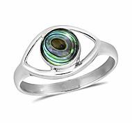 economico -malocchio mistico con intarsio di conchiglia di abalone .925 anello in argento sterling (7)