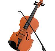 abordables -Violon Violon Instruments de Musique Simulation Pour Enfant Garçon Fille