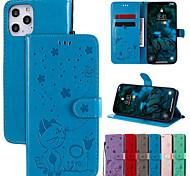 economico -telefono Custodia Per Apple Integrale Custodia in pelle Custodia flip iPhone 12 Pro Max 11 SE 2020 X XR XS Max 8 7 6 Resistente agli urti Con chiusura magnetica Fantasia / disegno Cartoni animati