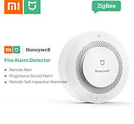 abordables -xiaomi mijia honeywell alarme capteur de sécurité feu détecteurs de fumée et de gaz multifonction 2 sécurité à domicile intelligente avec contrôle de la batterie wifi pris en charge ios / android pour