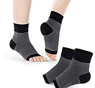 abordables -fasciite plantaire chaussettes 1 paire attelle de cheville support de compression manchons de pied pour planteur fasciite support de la voûte plantaire soulagement de la douleur orteil ouvert