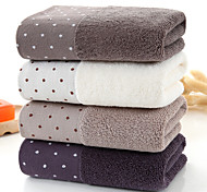 abordables -Qualité supérieure Serviette, Pois Pur coton Chambre à coucher / Salle de  Bain 2 pcs