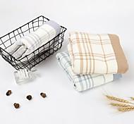 abordables -Qualité supérieure Serviette de bain, Tartan / Mode Pur coton Salle de  Bain 1 pcs