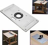 abordables -panneau de bascule de machine de coupe de bois 235 * 119 * 8mm plaque de table de routeur