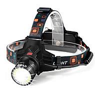 abordables -lampe frontale rechargeable-1000 lumen 2 fonctions fusion (torche torche&spot light) xtreme bright 9oz ipx4 étanche zoomable rechargeable led phares lampe de poche