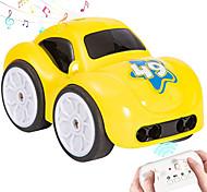 economico -Macchinine giocattolo Auto telecomando Ricaricabile Mini Telecomando Musica e luce Macchina stunt Macchina da corsa 2.4G Per Per bambini Per adulto Regalo