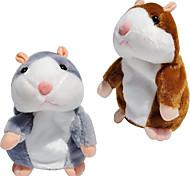 abordables -beau hamster parlant parler son enregistrement sonore répéter répéter peluche animal kawaii hamster jouets enfants enfants cadeaux danniversaire cadeaux noël enfant